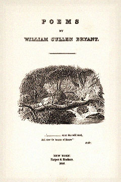 William Cullen Bryant most famous poems